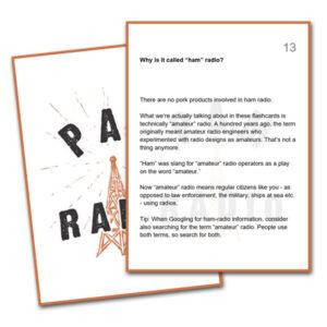 PAM Radio Flashcards